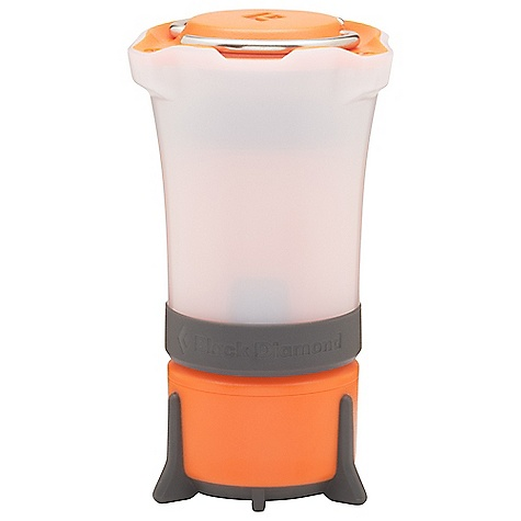 Black Diamond Orbit Lantern Vibrant Orange