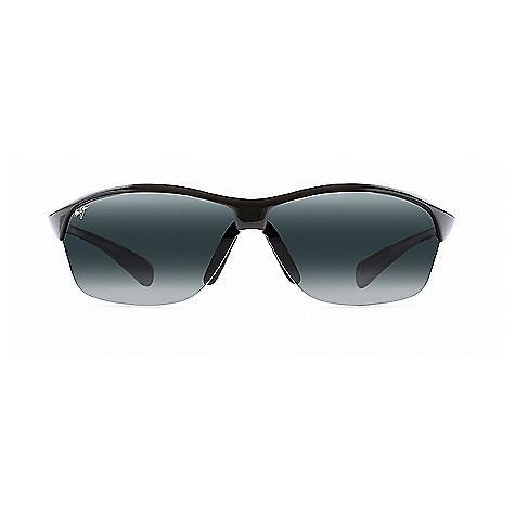 Maui Jim Hot Sands Polarized Sunglasses Gloss Black / Neutral Grey