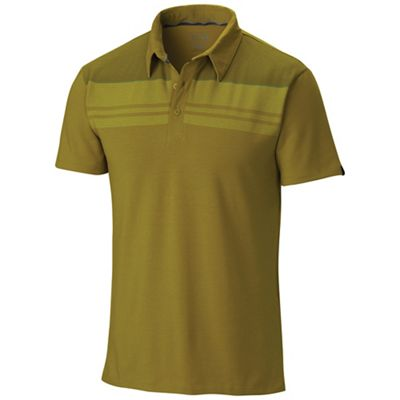 Mountain Hardwear Men's DrySpun Stripe SS Polo