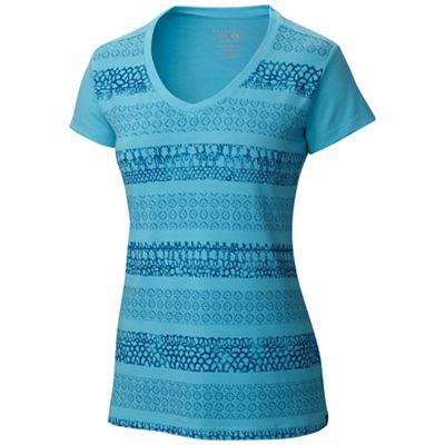 Mountain Hardwear Women's DrySpun Batika V-neck SS Tee