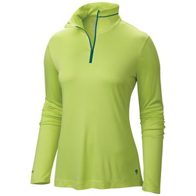 Mountain Hardwear Women's Wicked LS Zip T