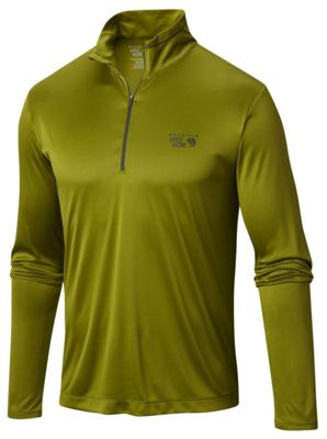 Mountain Hardwear Men's Wicked LS Zip Tee
