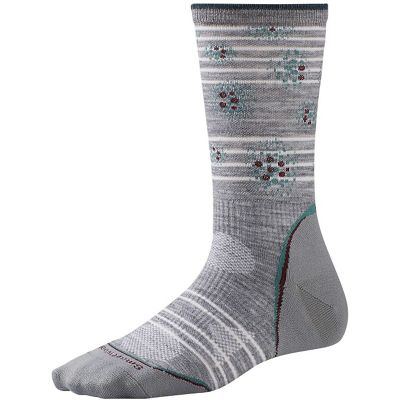 Smartwool Women's PhD Outdoor Ultra Light Pattern Crew Sock