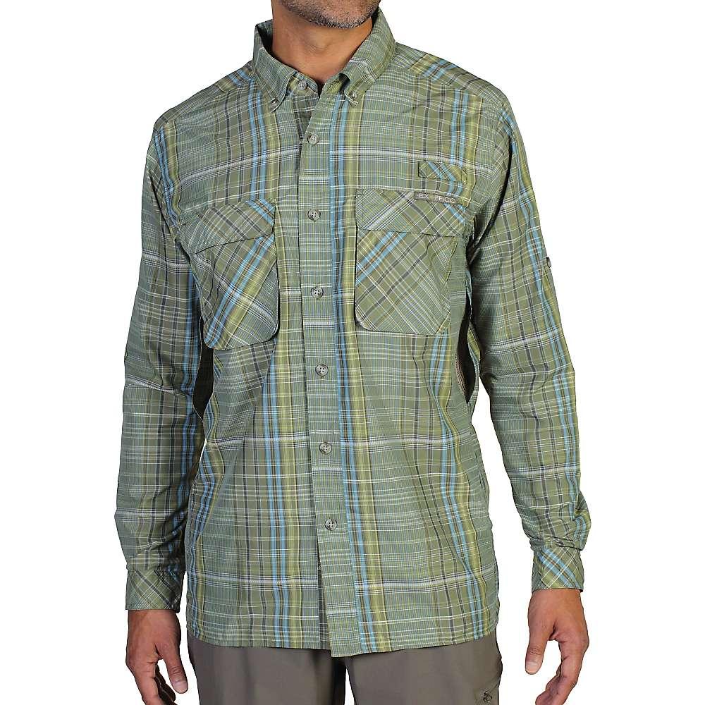 Exofficio men 39 s air strip macro plaid l s shirt for Jawbone fishing shirts