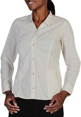 ExOfficio Women's BugsAway Marigold LS Shirt