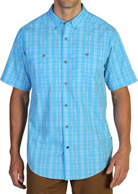 ExOfficio Men's Contour'd Plaid S/S Shirt