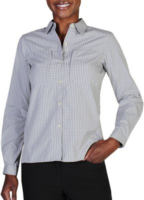 ExOfficio Women's Drylite Check LS Shirt