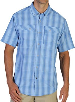 ExOfficio Men's Lodestone Plaid S/S Shirt