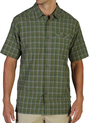 ExOfficio Men's Quadrant Plaid S/S Shirt