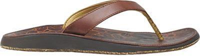 OluKai Women's Paniolo Plumeria Sandal