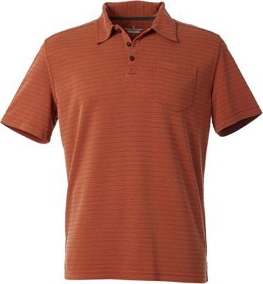 Royal Robbins Men's Desert Knit Pique Stripe Cricket Shirt