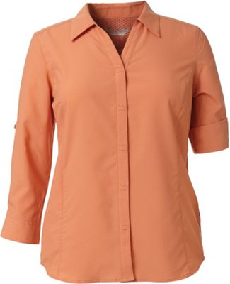 Royal Robbins Women's Expedition Stretch 3/4 Sleeve Top
