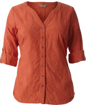 Royal Robbins Women's Grapevine 3/4 Sleeve Shirt