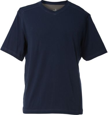 Royal Robbins Men's Organic Jersey S/S V-Neck Top