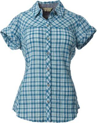 Royal Robbins Women's Peasant Plaid S/S Shirt