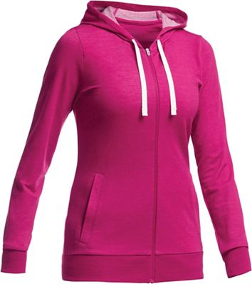 Icebreaker Allure LS Zip Hood Top