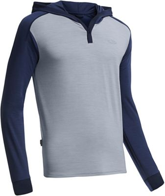Icebreaker Men's Cool-Lite Sphere LS Hood Top