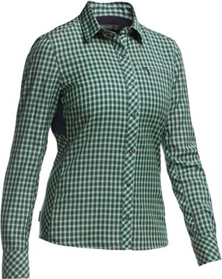 Icebreaker Women's Terra LS Plaid Top