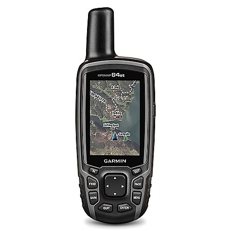 Garmin GPS Map 64st Handheld is great to have when getting lost while camping.