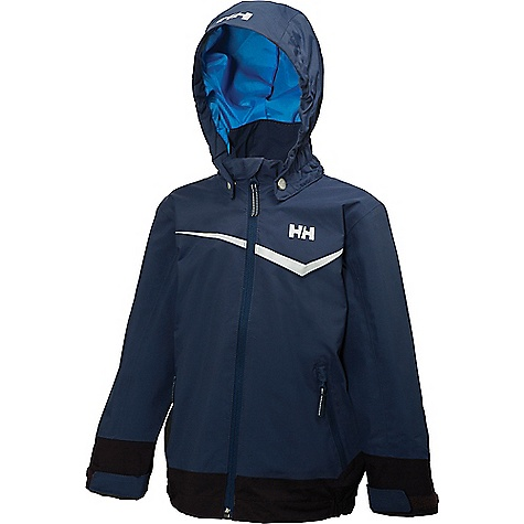Helly Hansen Kids' Shelter Jacket Evening Blue