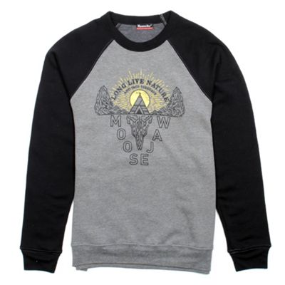 Moosejaw Men's Last Resort Tri-Blend Crew Sweatshirt