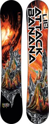 Lib Tech Attack Banana Wide Snowboard 156 - Men's
