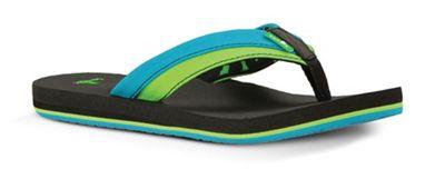 Sanuk Youth Rootbeer Cozy Light Sandal