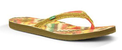 Sanuk Women's Slim Fraidy Funk Sandal