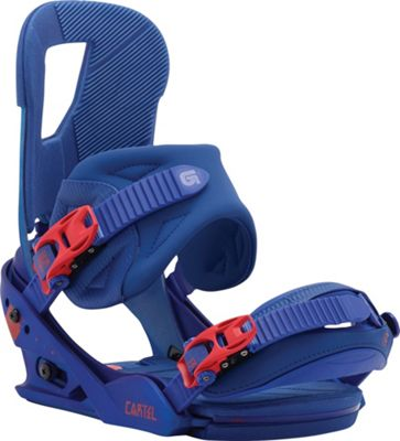 Burton Cartel Re:Flex Snowboard Bindings - Men's
