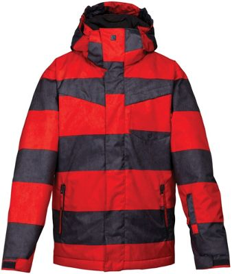 Quiksilver Mission Printed Insulated Snowboard Jacket - Men's
