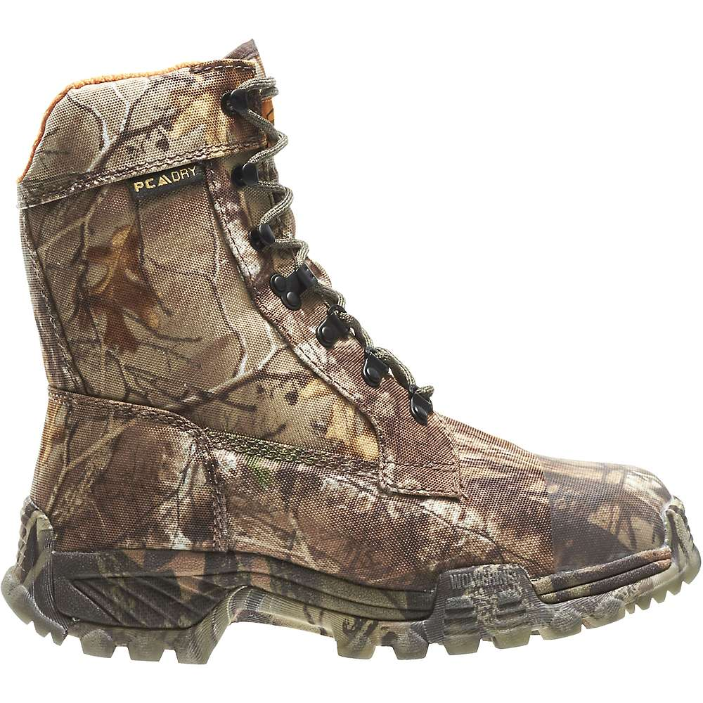 Wolverine Men's King Caribou III Waterproof Insulated Boot - 8 M - Realtree Xtra