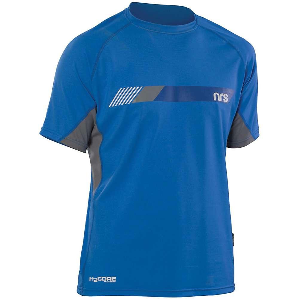 NRS Men's H2Core Silkweight SS Shirt - Medium - Crystal Blue