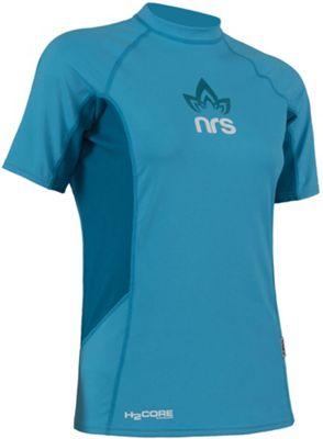 NRS Women's H2Core Rashguard SS Shirt