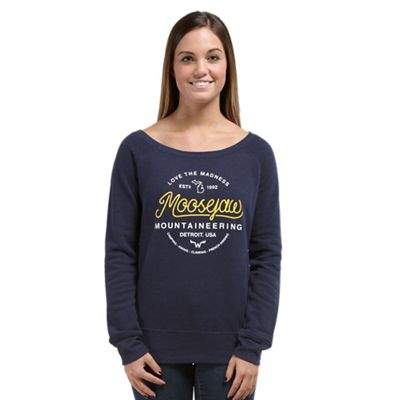 Moosejaw Women's Circle of Life Tri-Blend Wide Neck Crew