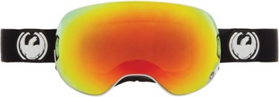 Dragon APX2 Goggles /Dark Smoke And Yellow/ Blue Ionized Lens - Men's