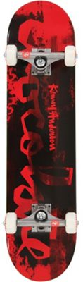 Chocolate Anderson Hype Paint Skateboard Complete 7.5 x 31in