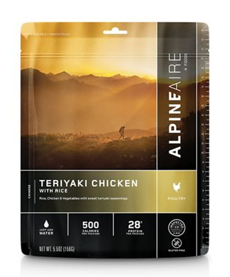 AlpineAire Chicken Teriyaki with Rice