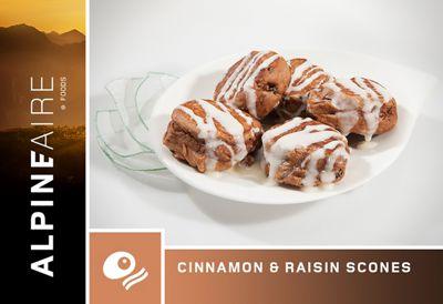 AlpineAire Cinnamon & Raisin Scones