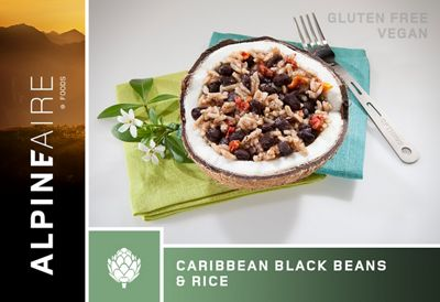 AlpineAire Caribbean Black Beans & Rice