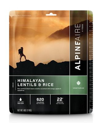 AlpineAire Himalayan Lentils & Rice
