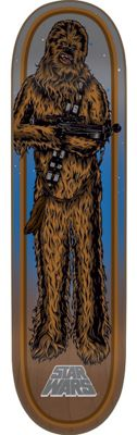 Santa Cruz Star Wars Chewbacca Skateboard Deck 8.26in x 31.7in
