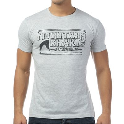 Mountain Khakis Men's Drawn Logo SS Pocket T-Shirt