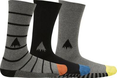 Burton Apres 3-Pack Socks - Men's