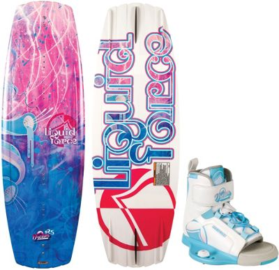 Liquid Force Dream Wakeboard 125 w/ Dream Bindings 12T-5