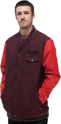 Holden Coaches Snowboard Jacket Black/Bw Stripe - Men's