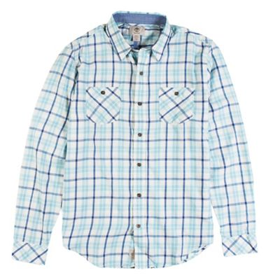 Timberland Men's Long Sleeve Warner River Flannel Shirt