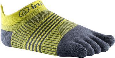 Injinji Women's Run Lightweight No Show Coolmax Sock