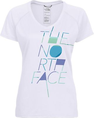 The North Face Women's Enduring Reaxion Amp V-Neck SS Tee