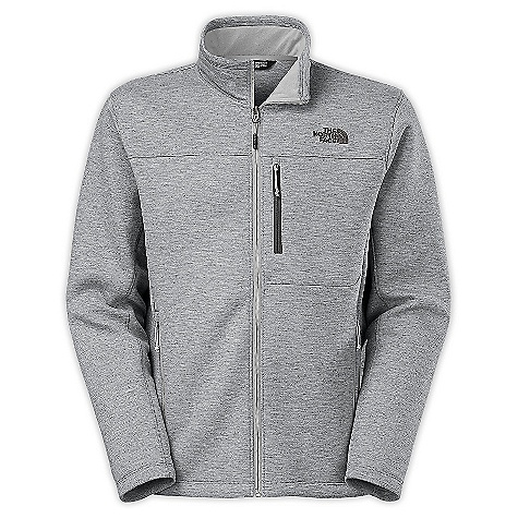 The North Face Men's Haldee Full Zip Jacket High Rise Grey Heather