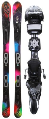 K2 SuperBurnin Skis w/ Marker ERS 11.0 TC Demo Bindings - Women's